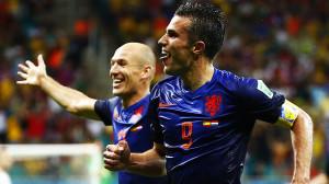 Holanda surpreende Espanha com goleada
