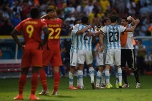 argentina e belgica