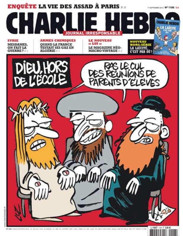 Capas do Charlie Hebdo 6 – DIÁRIO PB
