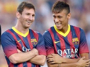 Lionel Messi e Neymar Jr.