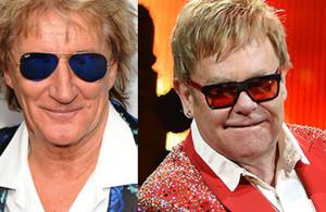 Rod Stewart e Elton John