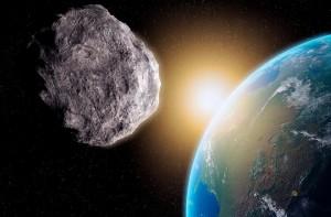 asteroide passa perto do planeta Terra