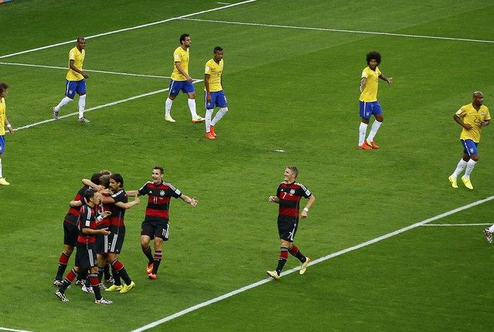 Alemanha aplicou uma goleada no Brasil na Copa de 2014 Reuters