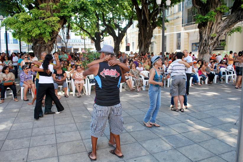 Sabadinho Bom - Praça Rio Branco, centro de JP. Foto: Sérgio Ricardo/Arquivo/DIÁRIOPB