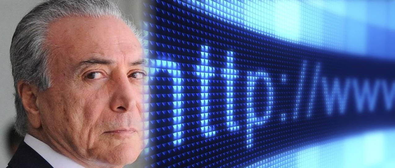 Brasil quer censurar a internet