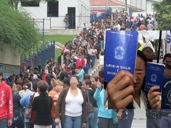Resultado de imagem para fila desempregado