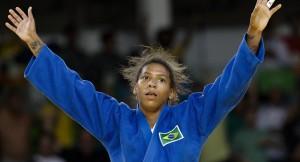 Judoca Rafaela Silva