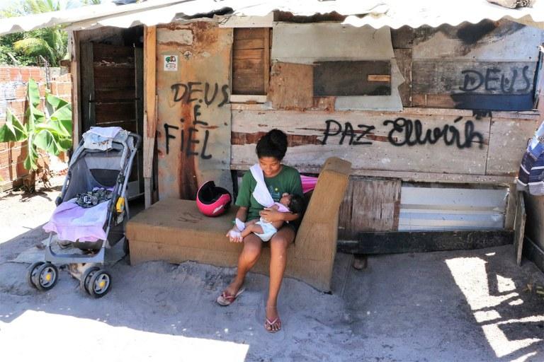 Comunidade Paraisópolis - Imagens: Ascom MPF/PB