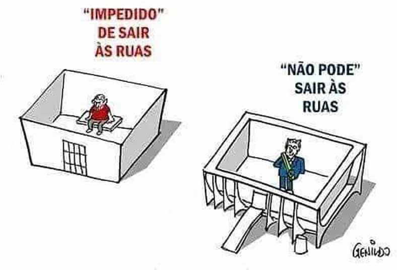 Lula e o golpista