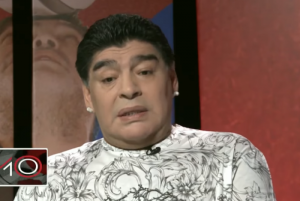Maradona manda recado para Neyma