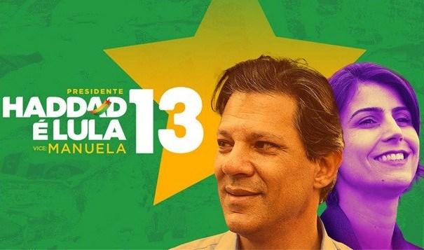 Haddad-e-Manu-Bandeira-do-Brasil