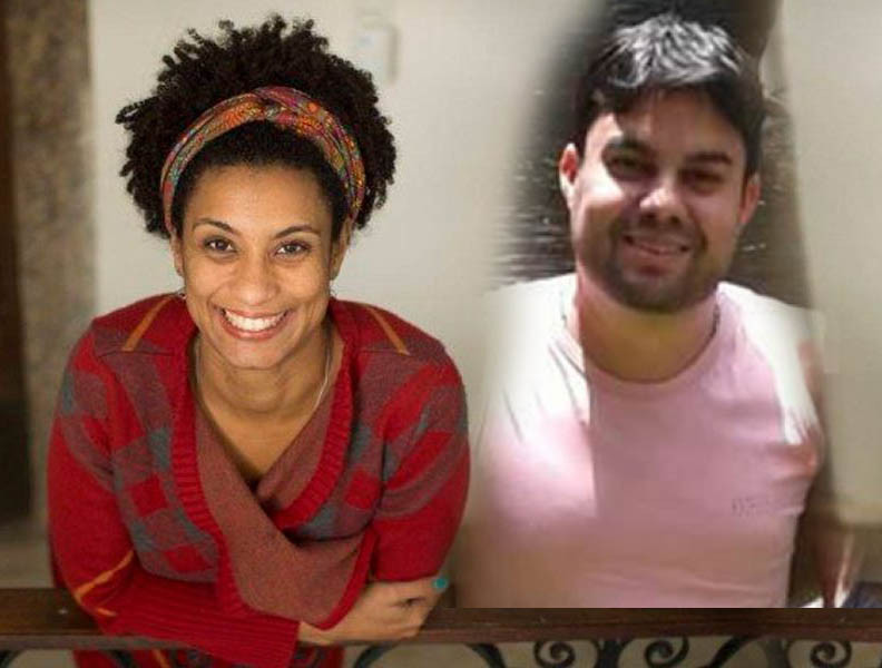 Image result for marielle franco anderson gomes