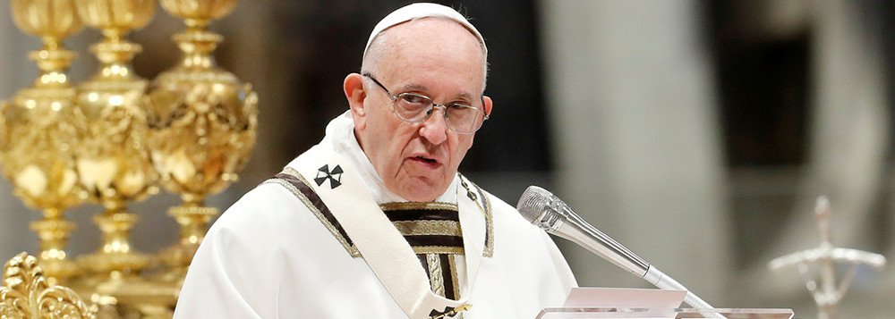 Papa diz temer