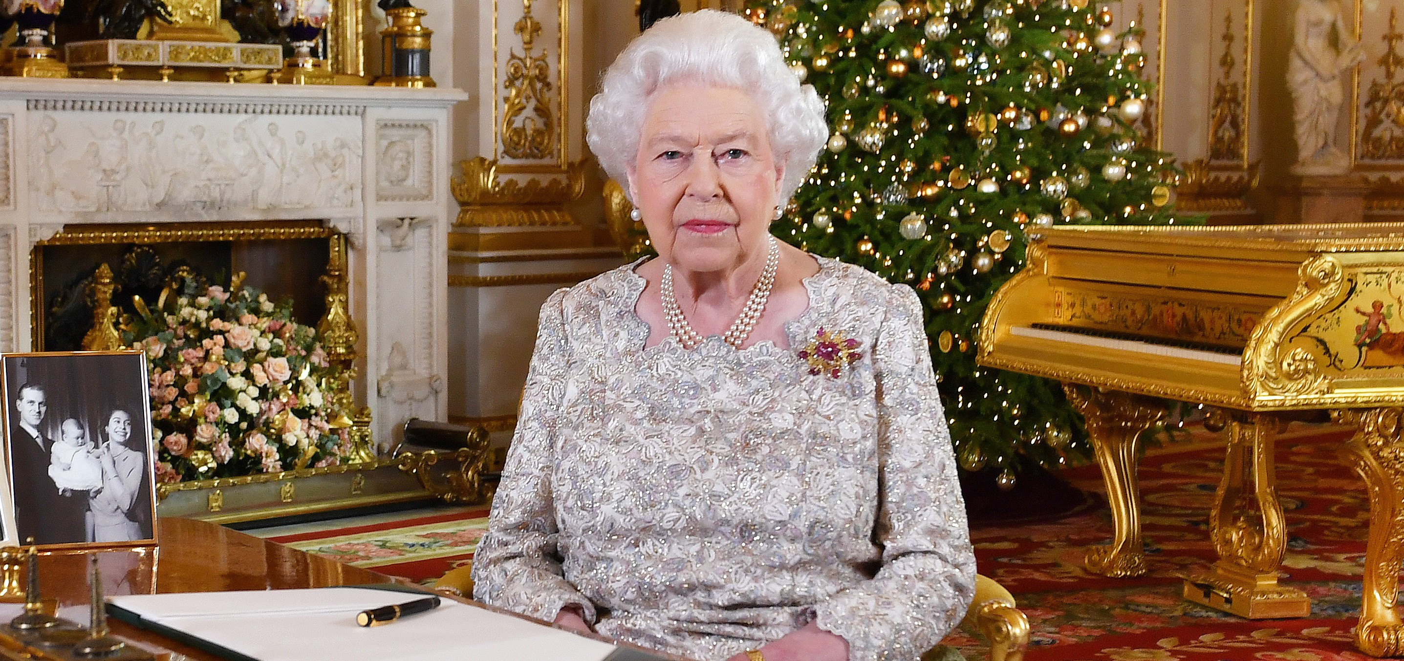 Queen Elizabeth II Delivers Her Christmas Speech