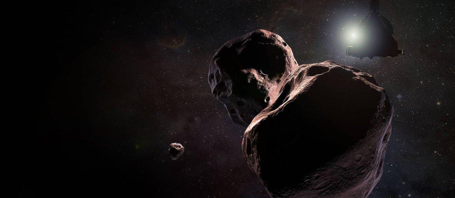 Sonda New Horizons sobrevoa objeto