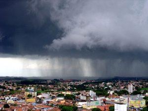 Inmet emite alerta de chuvas
