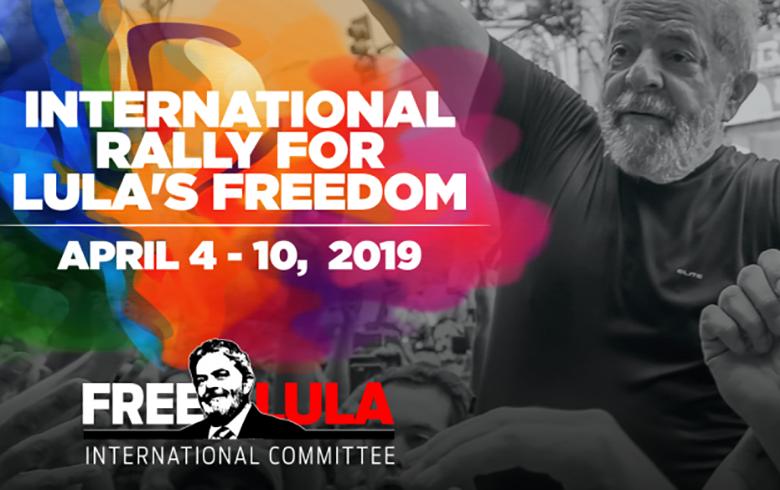 Atos pela liberdade de Lula