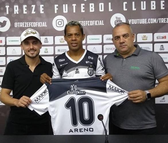 Treze acerta retorno de Marcelinho