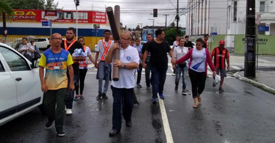 Photo of Via-Sacra da Catedral é adiada devido às fortes chuvas em João Pessoa