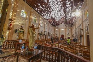 ataques no Sri Lanka