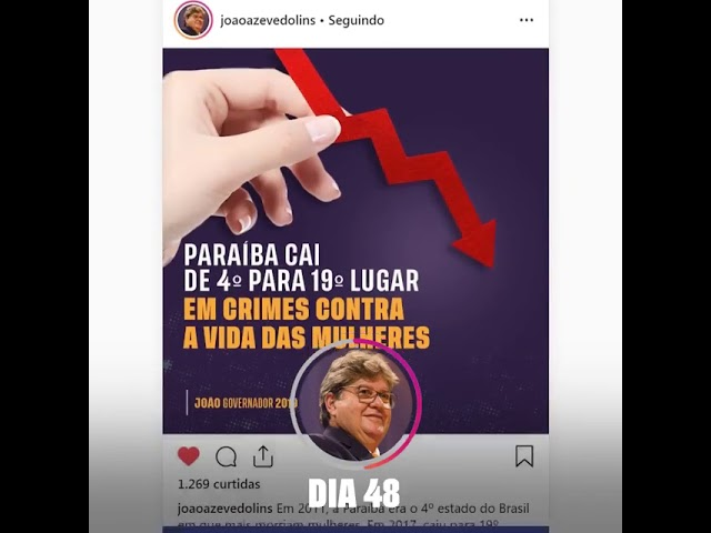 Photo of Em vídeo, João Azevêdo enumera ações realizadas nos 100 dias de gestão