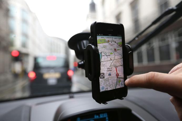 Motorista da Uber