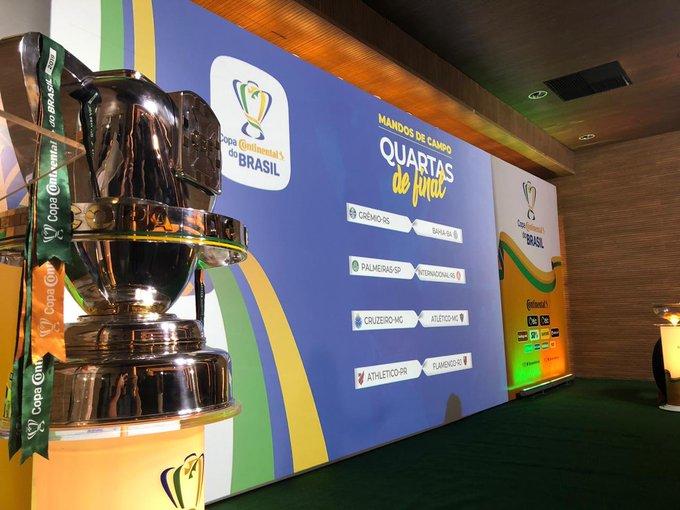 Photo of Quartas da Copa do Brasil são definidos em sorteio; confira