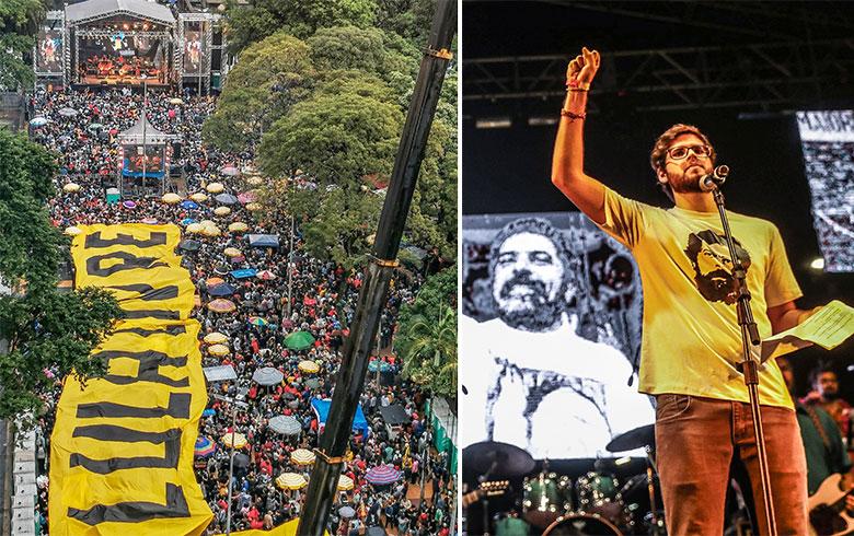 Photo of Lula, ao festival: Nada mais 'perigoso' do que um povo que canta e é feliz