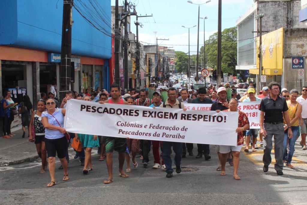 Photo of Pescadores fazem ato pela liberação do seguro defeso