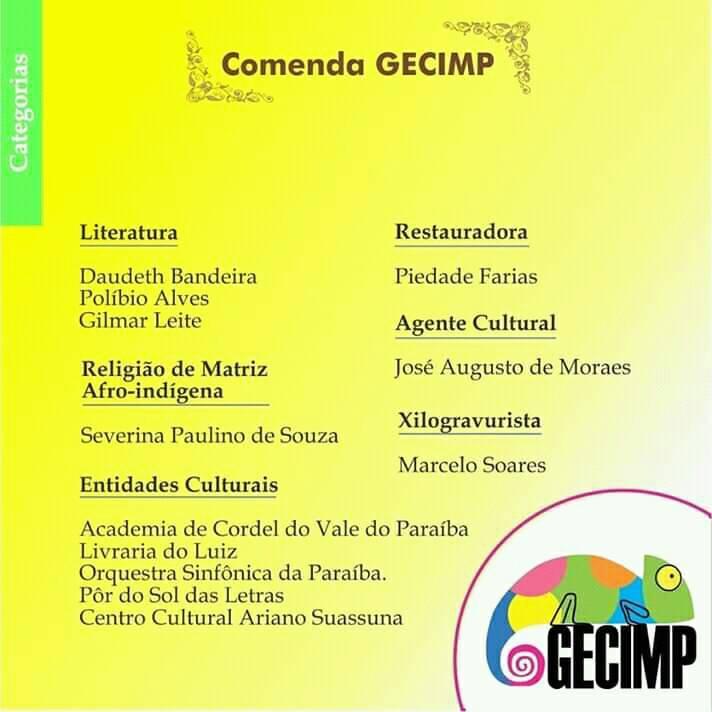 Photo of Academia de Cordel recebe Comenda em Seminário sobre Cultura na UFPB