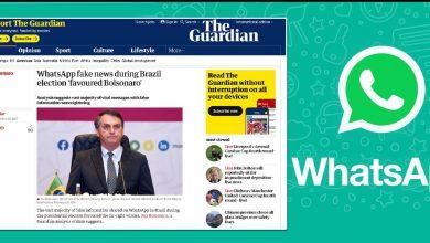 Photo of Guardian: 42% das mensagens em grupos bolsonaristas nas eleições eram falsas