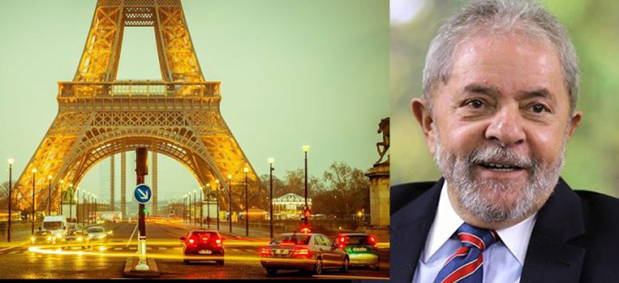 Photo of Confirmado: sai o comunicado oficial e Lula, preso político no Brasil, é cidadão de honra de Paris