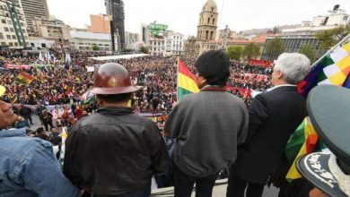 Photo of Ato gigantesco em apoio a Evo Morales toma La Paz