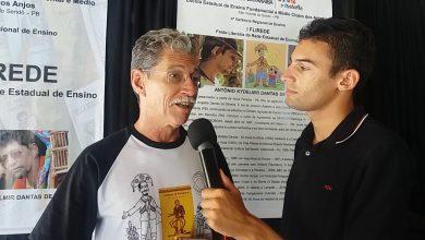 Photo of Poeta Kydelmir Dantas é homenageado na I Feira Literária em São Vicente do Seridó/PB