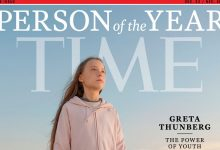 "Photo of Insultada por Bolsonaro, Greta Thunberg, a ""pirralha"", é personalidade do ano da Time"