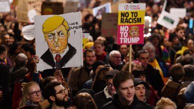 Photo of Milhares de pessoas participam de protesto contra Otan e Trump em Londres