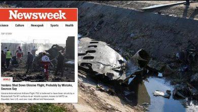 Photo of Revista dos Estados Unidos acusa Irã de ter derrubado avião com 176 pessoas