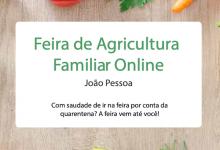 Photo of Feira de agricultura familiar online João Pessoa – PB