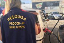 Photo of Pesquisa comparativa do Procon-JP registra que o menor preço gasolina subiu R$ 0,30 em relação a julho