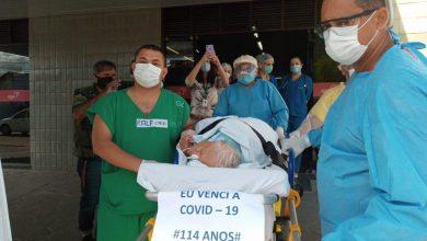 Photo of Idosa de 114 anos vence a Covid-19 e recebe alta de hospital em João Pessoa