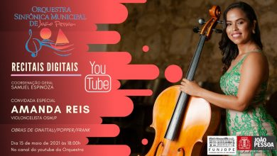 Photo of Violoncelista Amanda Reis é atração do programa 'Recitais Digitais' deste sábado
