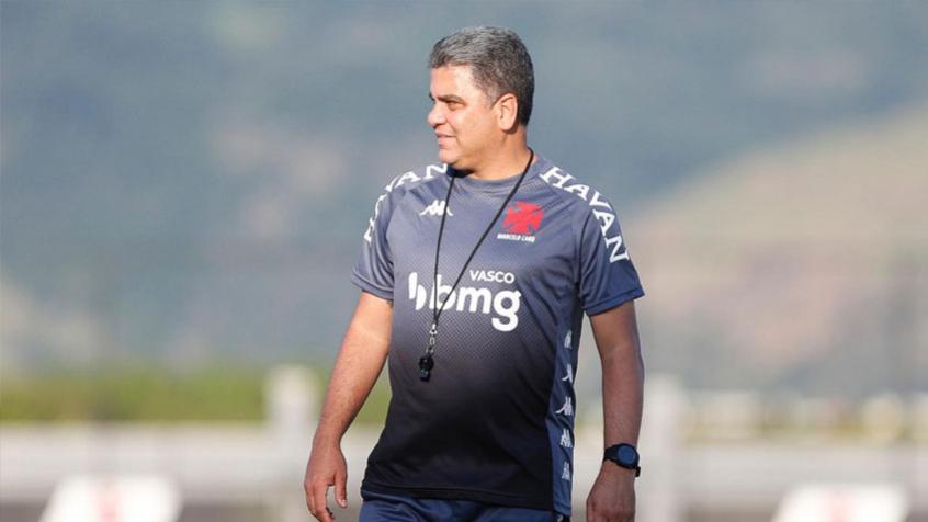 Marcelo Cabo, atual técnico do Vasco da Gama. Imagem: Rafael Ribeiro / CRVG