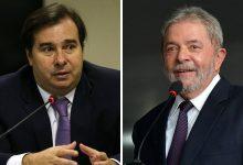 Photo of Expulso do DEM, Rodrigo Maia se oferece para ajudar Lula em 2022