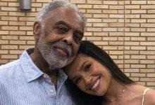 Photo of Juliette e Gilberto Gil ensaiam juntos para realização de live show