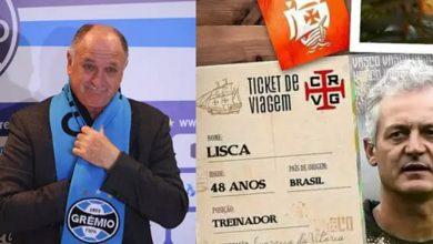 Photo of Duas apostas diferentes: Lisca no Vasco e Felipão no Grêmio