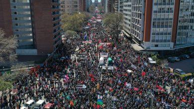 Photo of Uruguaios realizam greve geral contra medidas neoliberais de Lacalle Pou